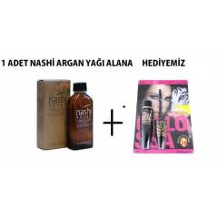 NASH� ARGAN YA�I 100ML ORJ�NAL FATURALI �R�N