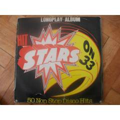 50 NON STOP DISCO HITS - HIT STARS ON 33  LP