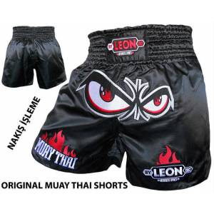 Leon No Fear Muay Thai ve Kick Boks �ortu Black