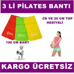 P�LATES YOGA 3 L� BANT 120 CM  20 CM P�LATES TOP