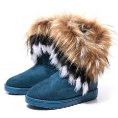 Women Autumn Winter Snow Boots Ankle Boots