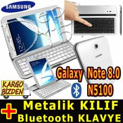 Samsung Galaxy Note 8.0 Bluetooth Metal Klavye