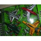 4 ADET �EK BIRAK METAL MODEL U�AK SET�