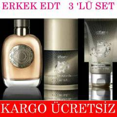 OR�FLAME FLAMBOYANT EDT ERKEK PARF�M 3 L� SET