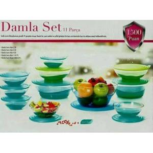 Tupperware Damla Set 11 Par�a