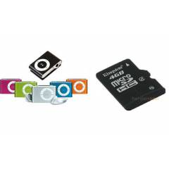 MTC Mini Mp3 Player(4GB HAFIZA KART HED�YE)