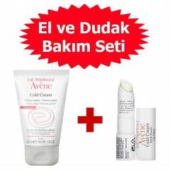 Avene Cold Cream El Kremi 50 ml ve Avene Cold Cr