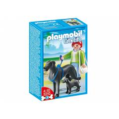 Play Mobil Great Dane K�pe�i ile Yavrusu 5210 !!