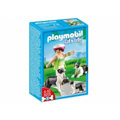 Play Mobil Border Colliens K�pe�i �le Yavrusu !!