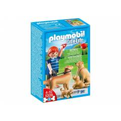 Play Mobil Golden K�pe�i ile Yavrsu PLAYMOB�L!!