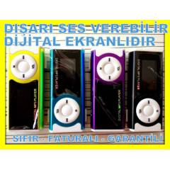 2GB MP3 �ALAR PLAYER EKRANLI 2 GB MP 3 �ALAR