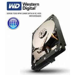 WESTERN DIGITAL-500GB-16MB-SATA 3-7200RPM-DAH�L�