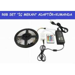 "5MT""RGB �� MEKAN SET""�ER�T LED+ADAPT�R+KUMANDA"
