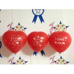 KALP BALON (100 ADET) I LOVE YOU BASKILI