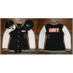 OBEY  KOLEJ MONT, COLLEGE JACKET,