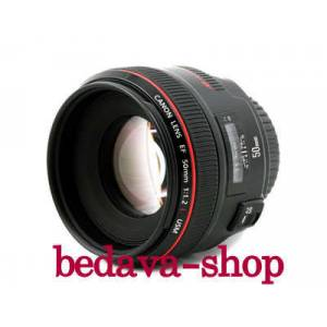 CANON EF 50 mm 1.2 LENS
