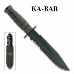 KA-BAR Fighter Military B��ak MADE in USA