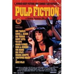 Maxi Poster - Pulp fiction - Uma On Bed Duvarlar