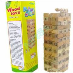 JENGA FOLDS HIGH WOOD TOYS AH�AP 48 L� ZARLI