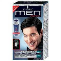 SCHWARZKOPF MEN PERFECT 90 - S�YAH JEL BOYA