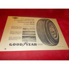 GOOD YEAR ARABA LAST��� REKLAMI. 1967 TAR�HL�.