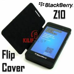 BlackBerry Z10 Flip Cover Kapakl� K�l�f +3Film