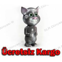 TALKING TOM CAT KONU�AN KED� E��T�C� OYUNCAK