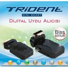 TR�DENT MINI UYDU ALICI SCART B�SS'L� REC�EVER