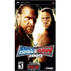 PSP ORJINAL OYUN  - SMACK DOWN vs RAW 2009