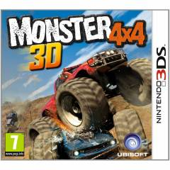 MONSTER 4X4 3D 3DS OYUN SIFIR AMBALAJINDA