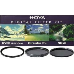 Hoya 58mm ��l� Filtre Seti - ND - Polarize - UV