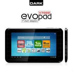"Dark EvoPad V7022 7"" �ift �ekirdekli Tablet PC"