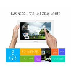 PIRANHA BUSINESS III Tab 10.1 ZEUS WHITE*8GB*1GB