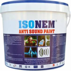 �sonem Anti Sound Paint Ses Yal�t�m Boyas� 18 k�