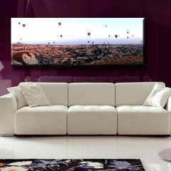 150X44cm CANVAS TABLO U�AN BALONLAR