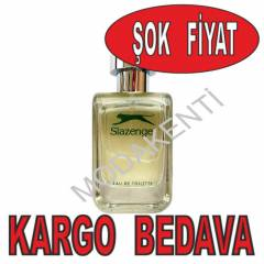 Slazenger Action Ye�il  EDT Erkek Parf�m� 100 ml