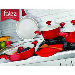 Falez Optimale FOS1001 7 Par�a Ezme Seramik Tenc
