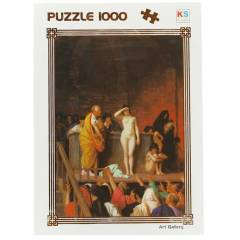 KS Games 1000 Par�a Puzzle Sale Of Slave Girl �n