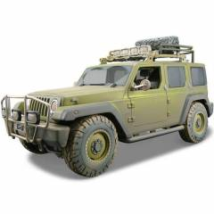 Maisto Jeep Rescue Concept Model Araba 1:18 Dirt