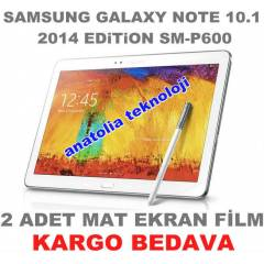 GALAXY NOTE 10.1 2014 Edition MAT EKRAN F�LM