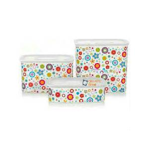 TUPPERWARE Su Set �i�ek 3'l�