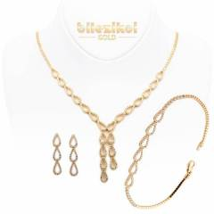 Favori Gold Ta�l� 14 Ayar Alt�n Set Tak�m� 15,30