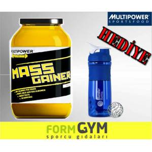 Multipower Mass Gainer 3 kg.+  Blender SHAKER