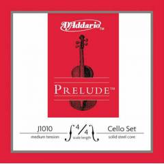 Daddario J1010 Prelude 4/4 Cello Teli Medium