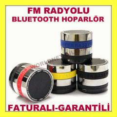 BLUETOOTH HOPARL�R SPEAKER RADYOLU FATURALI
