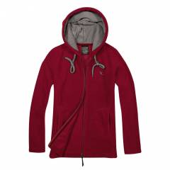 Cottonland RITA Bayan Polar Fleece Ceket BORDO