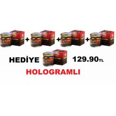 4+1  Red Honey Macun K�rm�z� bal