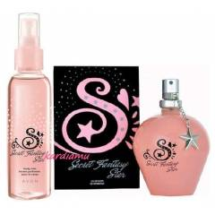 AVON BAYAN PARF�M SECRET FANTASY STAR 2L� SET