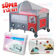 Camper Infant Sallanabilir Oyun Park�  3'l� SET