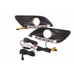 G�ND�Z FARI LED S�S KAPAKLI DRL FORD FOCUS 08-